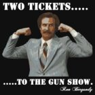 "Anchorman - Ron Bergundy ""Gun Show"" by Graham Lawrence"