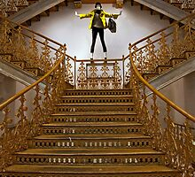 Gilded Staircase by phil decocco