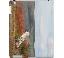 dead tree & paintbrush wildflowers on Johnston's Ridge iPad Case/Skin