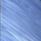 BLUE CALMNESS ON CANVAS by karen66