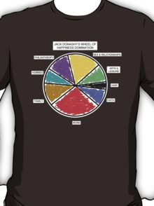 Wheel of Happiness Domination T-Shirt