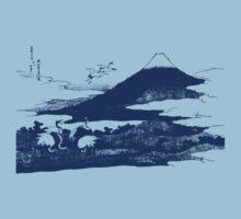 Blue Mount Fuji by Archpress