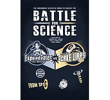 Battle for Science - V2 Photographic Print