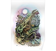 Cuttlefish memories surreal abstraction Poster
