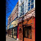 West Main Street In The Morning - Riverhead, NY  by © Sophie W. Smith