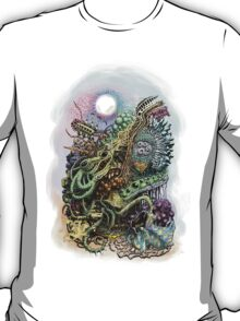 Cuttlefish memories surreal abstraction T-Shirt