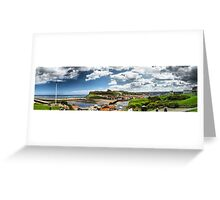 Whitby Panorama Greeting Card