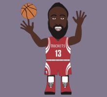 NBAToon of James Harden, player of Houston Rockets by D4RK0