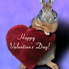 Valentine&#x27;s Bunny Rabbit by jkartlife