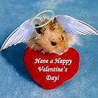 Valentine's Day Hamster by jkartlife