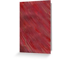 STREAKING IN RED Greeting Card