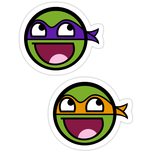 Cowabunga Buddy Squad: Don + Mike - Sticker by Cowabunga