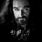 Richard Armitage as Thorin Oakenshield by Heike Richter