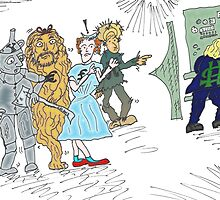 Forex wizard of Oz cartoon by Binary-Options