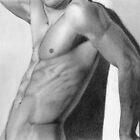 Male nude 7 by Stefano Campitelli