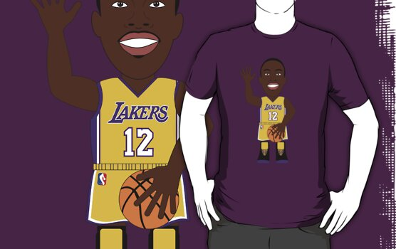 NBAToon of Dwight Howard, player of Los Angeles Lakers by D4RK0