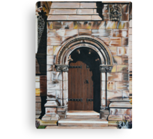 St. Andrews Door Canvas Print