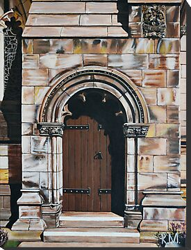 St. Andrews Door by ArtByRM