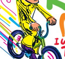 Freddie's Bicycle Sticker