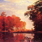 Bierstadt Albert Autumn Woods.   by naturematters