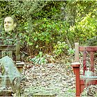 ghostly bench  by ronnyvan