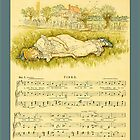 Greetings-Kate Greenaway-Tired by Yesteryears