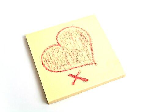 Valentine Note by Ellesscee