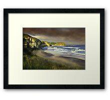 """""""The small port of Braddon"""" Framed Print"""