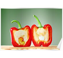 Red Bell Pepper  Poster
