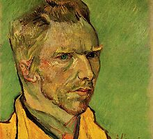 Vincent van Gogh,  Another Self Portrait. by naturematters