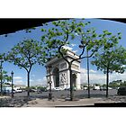Arc de Triomphe - Arc de Triomphe de l&#x27;toile panoramic by DiiGiiTAL