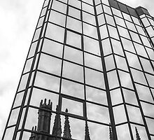 Modern Reflecting Old by Stevie B