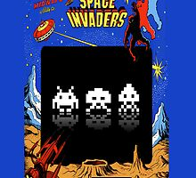 Space Invaders by bern67