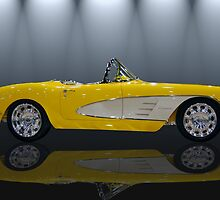 1960 Retro Vette by WildBillPho