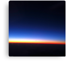 Perpetual Sunset Canvas Print