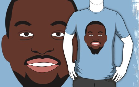 NBAToon of Kemba Walker, player of Charlotte Bobcats by D4RK0