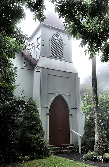 St George's Anglican Church - Mt Wilson NSW Australia by Bev Woodman