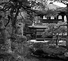 Garden and temple by Cebas