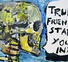 SKULLS QUOTING OSCAR WILDE - 2 by lautir