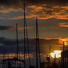 Sunrise on the Mast   by Larry Lingard/Davis