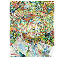 HERMANN HESSE with hat Poster