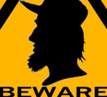 Beware - Bogans Sticker