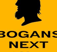 Bogans next 10km Sticker