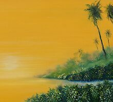 Tropical Sunrise by DavidKaz