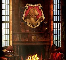 Gryffindor Common Room by Serdd