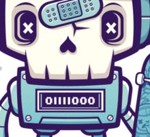 Skull Bot Sticker