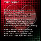 What&#x27;s in your heart? by Elisabeth Dubois
