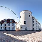 Riga Castle panorama, Riga, Latvia by paulsrphoto