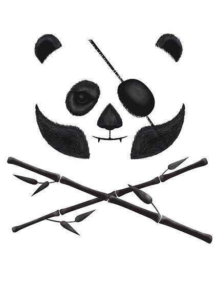 Panda Pirate by LordWharts