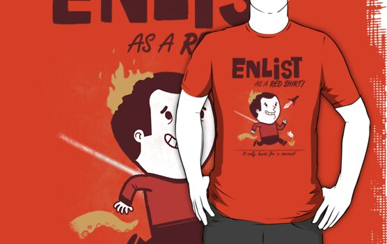 ENLIST as a Red Shirt! by Queenmob